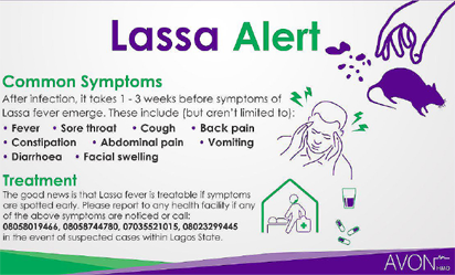 Lassa fever kills 142 in Nigeria since January