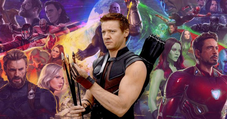 Is Hawkeye missing from Avengers: Infinity War promo because Hawkeye no longer exists?